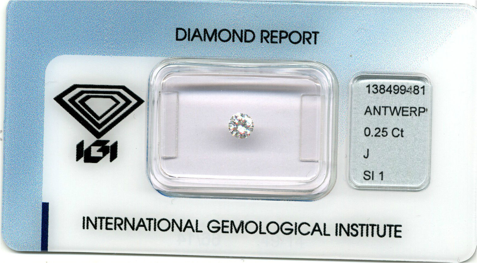 reports diamondreport htm igi diamond